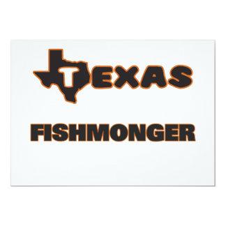 Texas Fishmonger 5x7 Paper Invitation Card