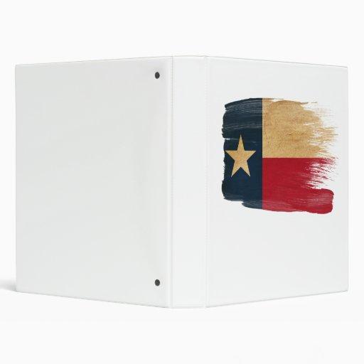 Texas Flag 3 Ring Binders