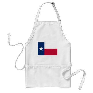 Texas Flag Adult Apron