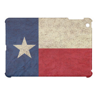 Texas Flag Aged iPad Mini Covers
