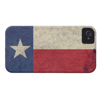 Texas Flag Aged iPhone 4 Cover