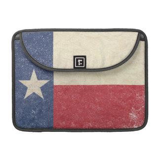 Texas Flag Aged Sleeve For MacBook Pro