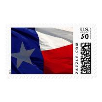 Texas Flag Artwork Postage
