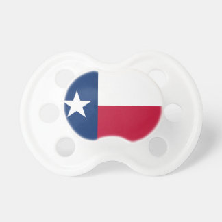 Texas flag baby pacifier | Texan design