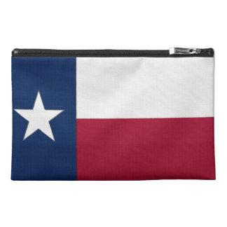 Texas Flag Travel Accessory Bag