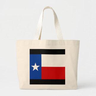 texas flag canvas bag