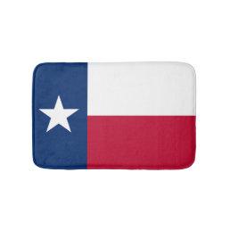 Texas flag bath mat   Texan bathroom rug