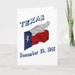 TEXAS FLAG & BIRTHDAY CARD