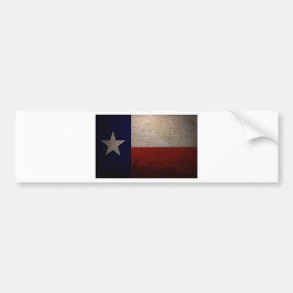 Texas flag bumper sticker