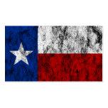 texas flag business cards