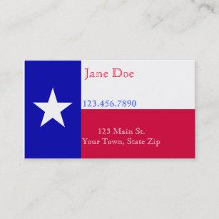Texas business cards templates zazzle texas flag business cards colourmoves