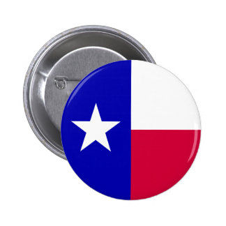 Texas Flag Pinback Buttons