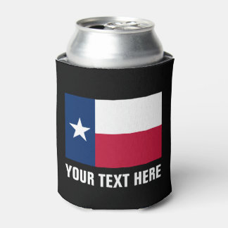 Texas flag can coolers | Texan pride beer holder
