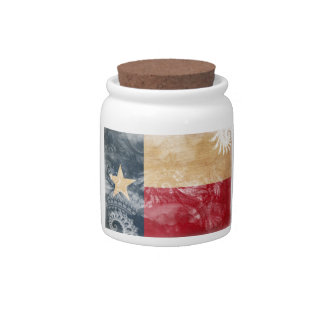 Texas Flag Candy Dishes