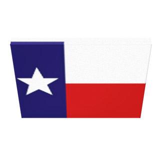 Texas Flag Canvas