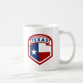 Texas Flag Coat of Arms Style Coffee Mug