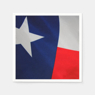 Texas Flag Cocktail Napkins