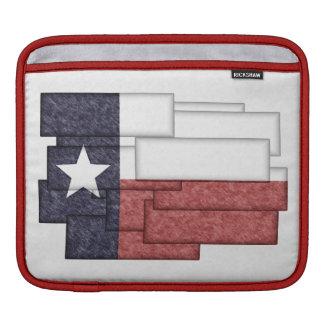 TEXAS FLAG COLLAGE iPad SLEEVE