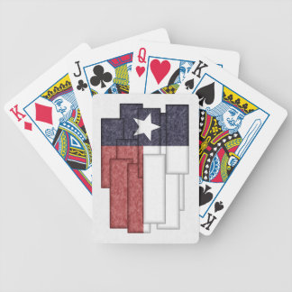 TEXAS FLAG COLLAGE CARD DECK