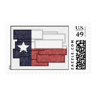 TEXAS FLAG COLLAGE STAMP