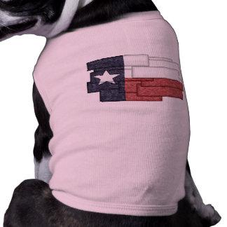 TEXAS FLAG COLLAGE SHIRT