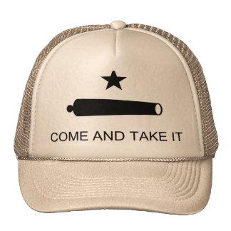 Texas Flag Come and Take Mesh Hat
