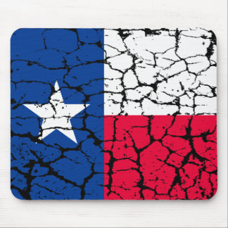 Texas Flag, Distressed Mouse Pad