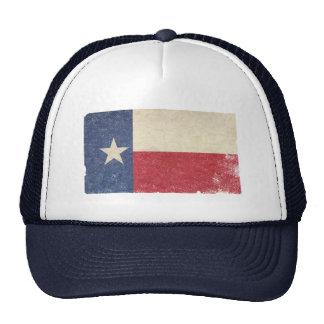 Texas Flag, Distressed Trucker Hat