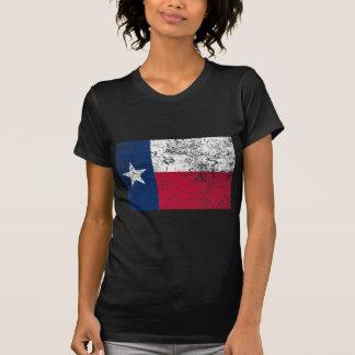 Texas Flag Distressed Tee Shirt