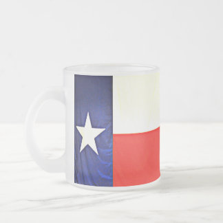 Texas Flag Frosted Mug