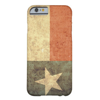 Texas Flag - Grunge Barely There iPhone 6 Case