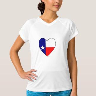 Texas Flag Heart Tshirt