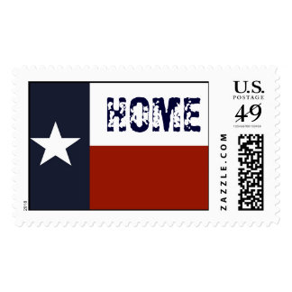 Texas Flag Home Stamps