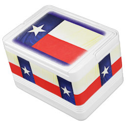 Texas Flag Igloo 12 Can Cooler