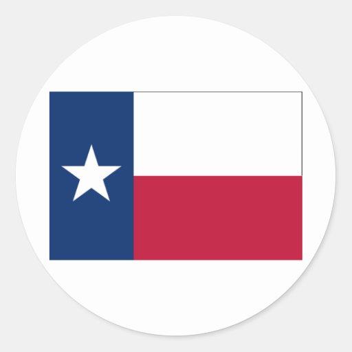 Texas FLAG International Classic Round Sticker