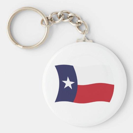 Texas Flag Keychain
