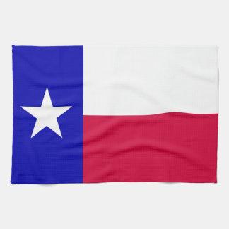 Texas Flag Hand Towel