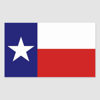 Texas Flag Lone Star State  Luggage Travel sticker
