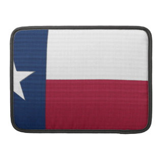 Texas Flag lone star state red white blue colors MacBook Pro Sleeve
