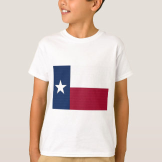 Texas Flag lone star state red white blue colors T-Shirt