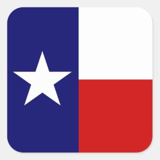 Texas Flag Lone Star State Travel Promo sticker
