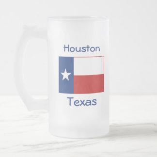 Texas Flag Map City Mug