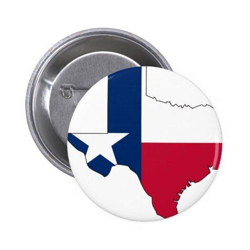 Texas Flag Map Pins