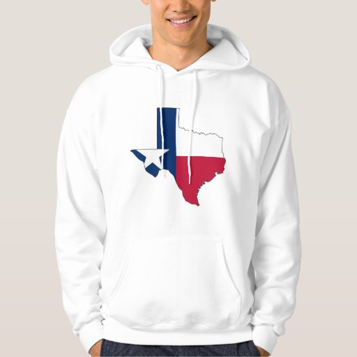 Texas Flag Map Pullover