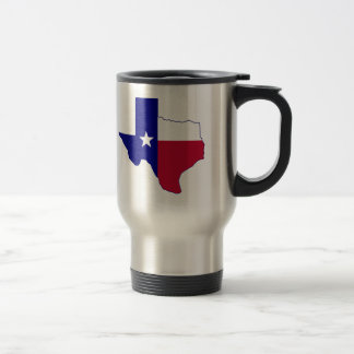 Texas Flag Map Travel Mug