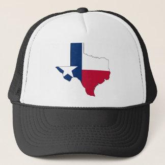 Texas Flag Map Trucker Hat