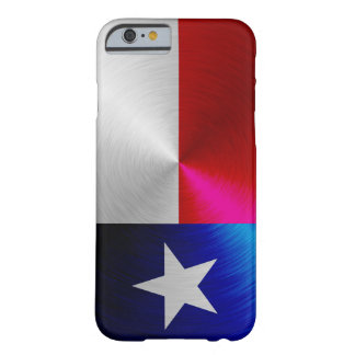 Texas Flag; metal-look iPhone 6 case