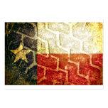 Texas Flag Mud Tire Business Card
