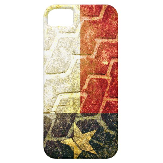 Texas Flag Mud Tire iPhone SE/5/5s Case