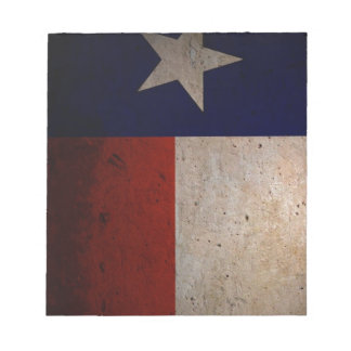 Texas flag scratch pad